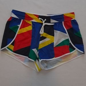 Colorful Bold Fabletics Running Shorts